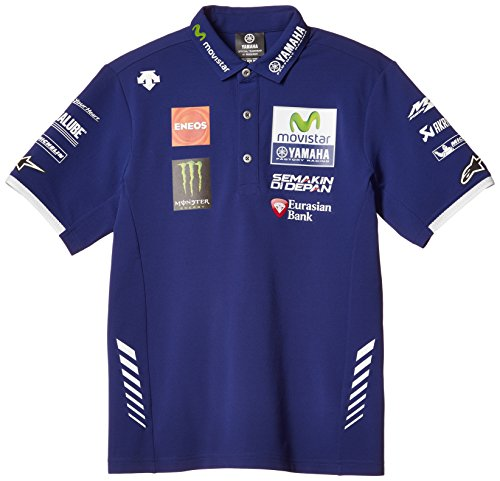 Descente S Top Quality Clothing L Yamaha Yamaha Factory Racing Official Team Were Motogp Polo Shirt Blue L Size Q5d Dct Y20 00l Sale List Japan Buy From Japan