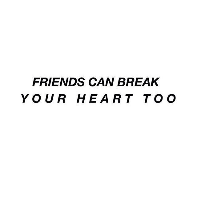 friends can break your heart too list buy from